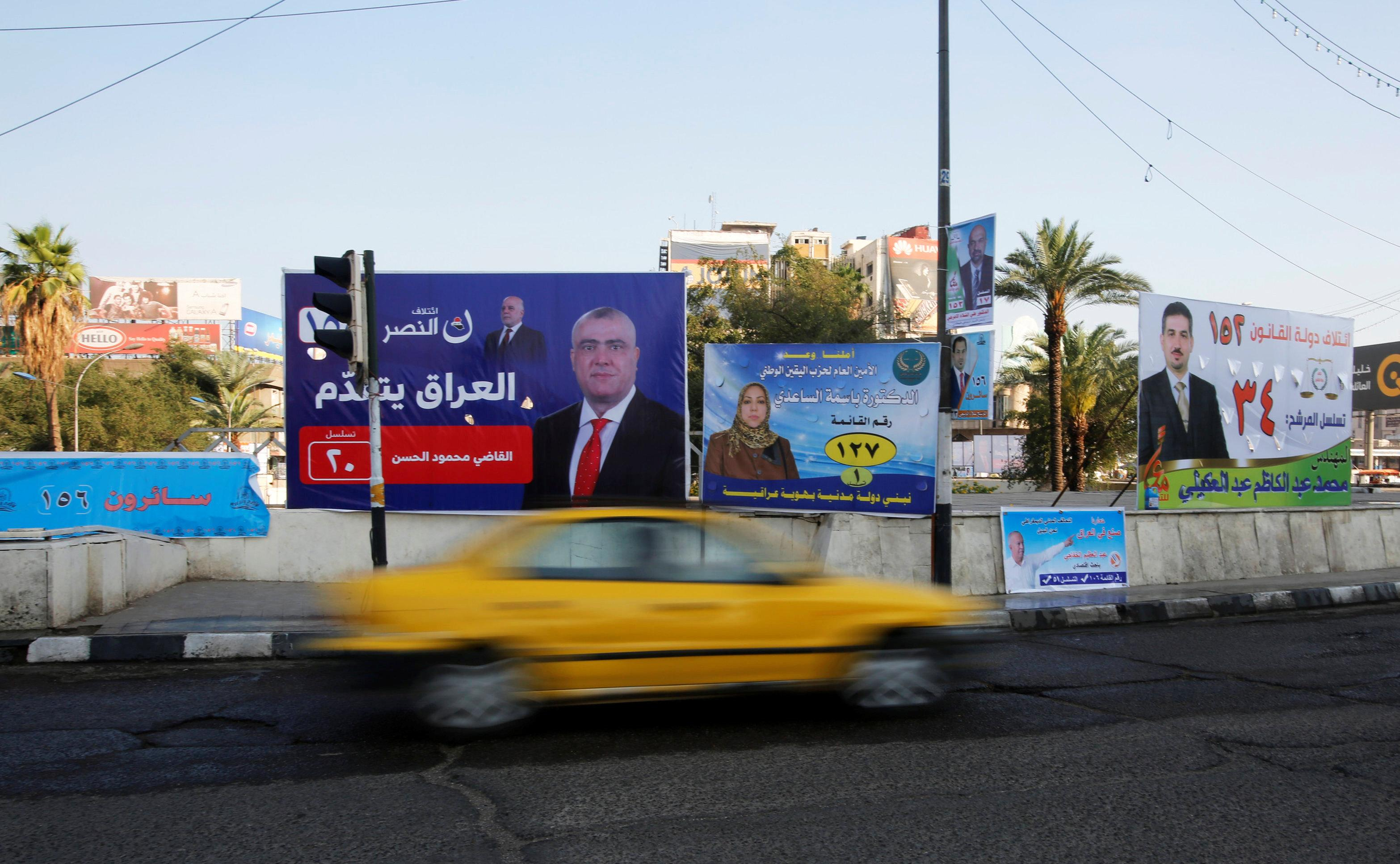Islamic State threatens polling station attacks ahead of Iraq vote