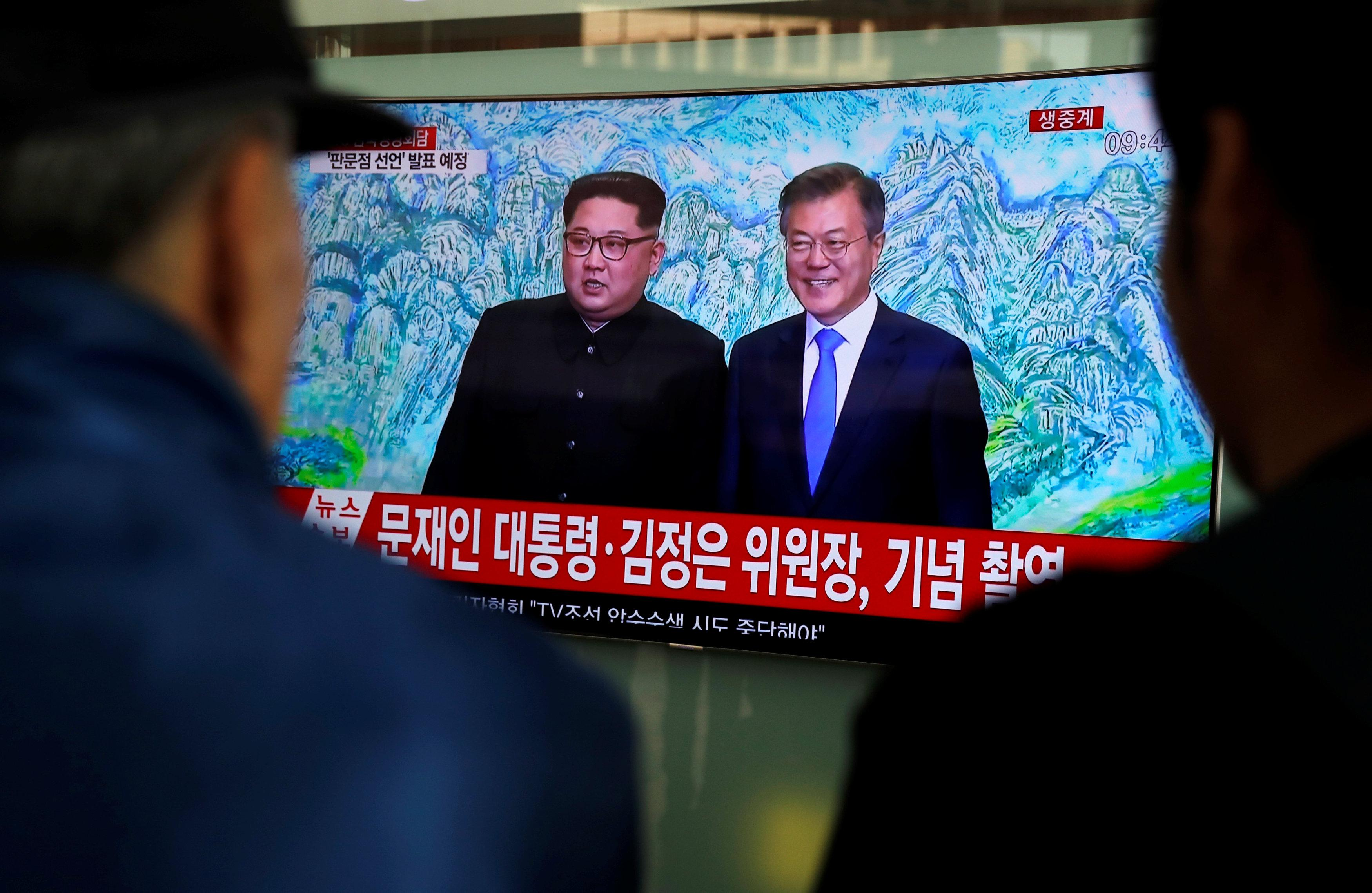 U.S. hopeful Korea talks will achieve progress toward peace