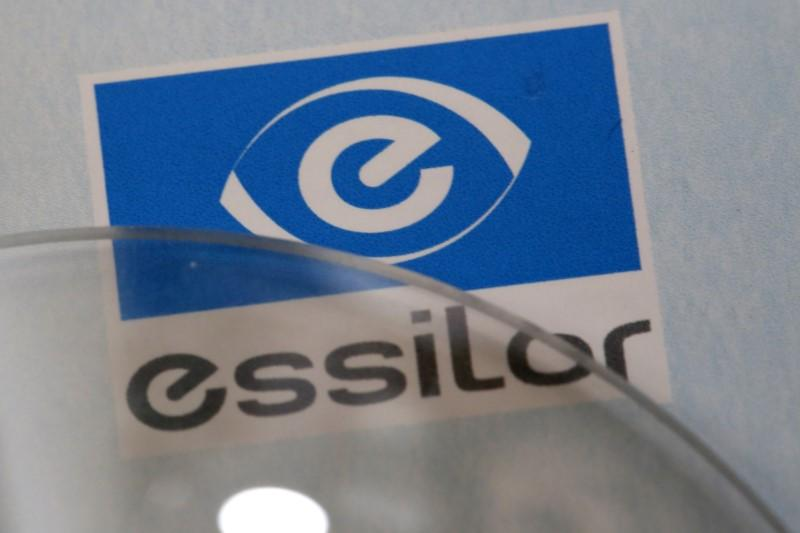 6939d6d352bbf French group Essilor first-quarter sales fall as Luxottica merger nears  close