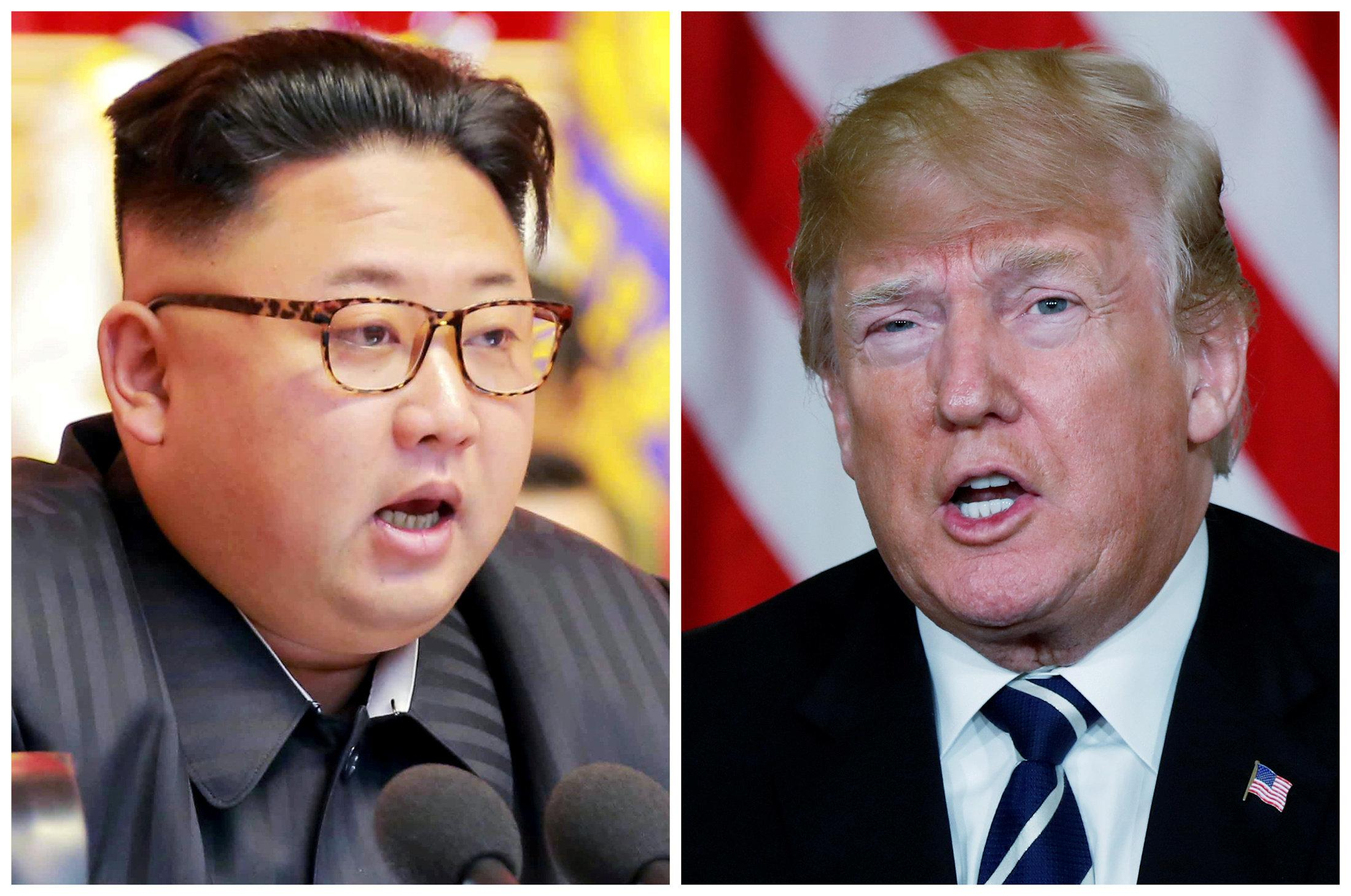 Trump - Two or three sites possible for U.S, North Korea summit