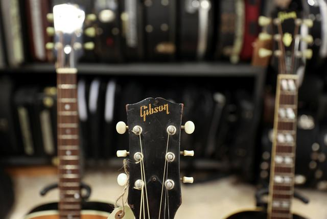 Legendary U S  guitar-maker Gibson files for bankruptcy
