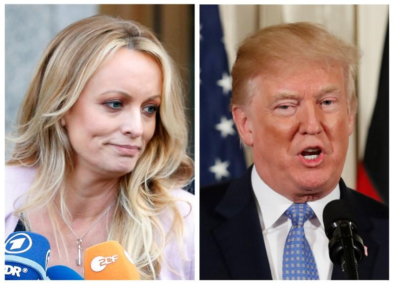 Image result for Trump repaid $130,000 spent to silence porn star - Giuliani