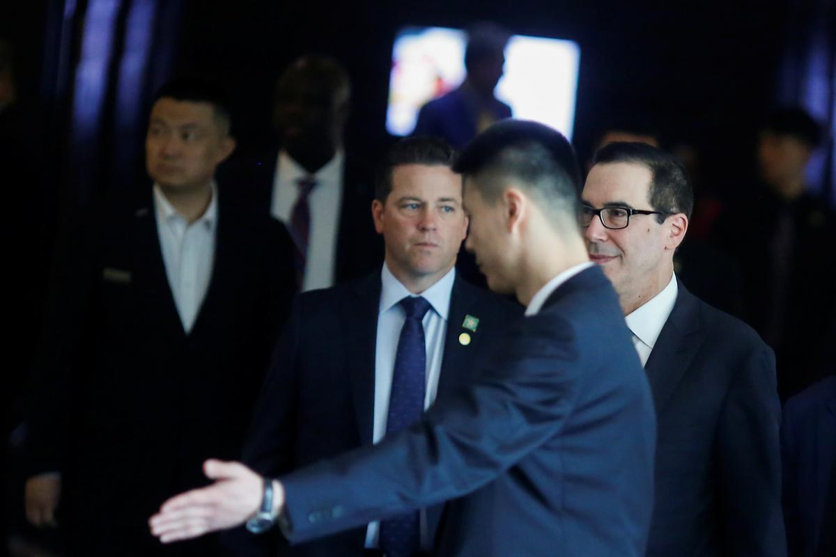 Treasury Secretary says having good trade talks in China