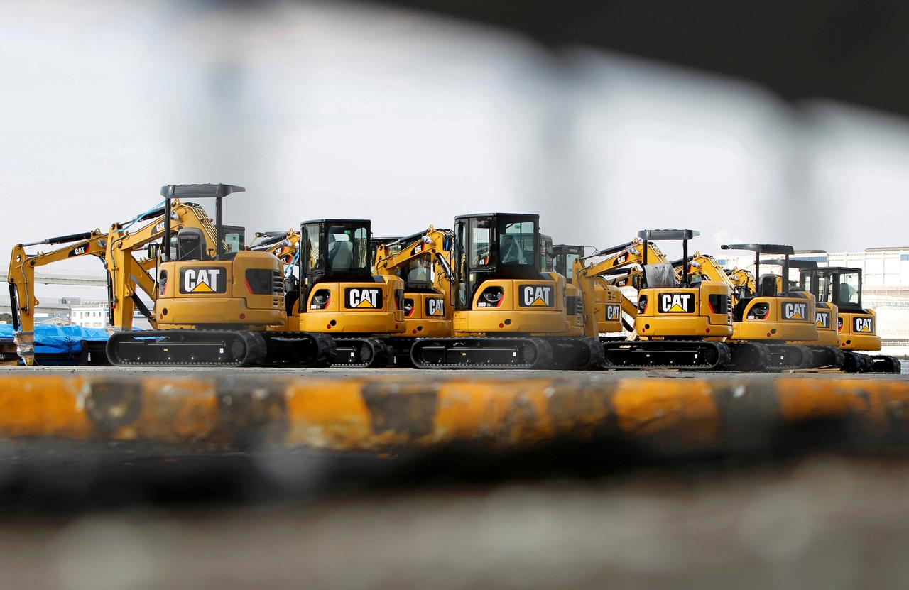 Caterpillar taps National Grids Andrew Bonfield as CFO | Reuters
