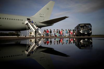 Venezuelans flee crisis to Brazil