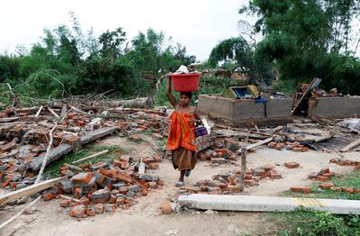 Thunderstorms sweep across India