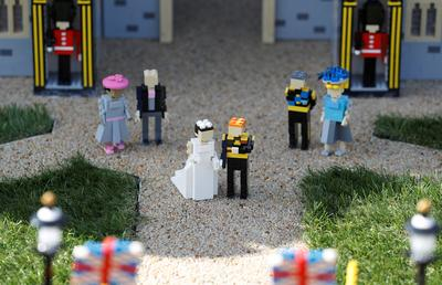 The royal wedding: Lego version