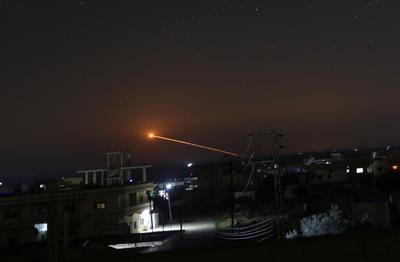 Israel attacks Iranian targets in Syria