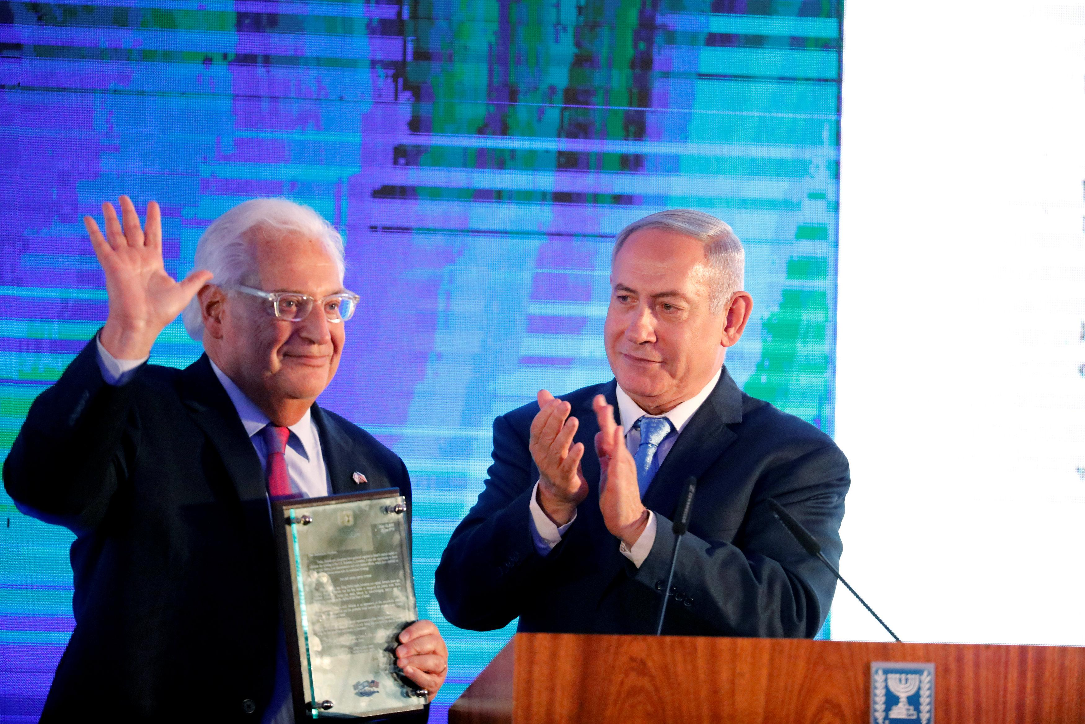 Most foreign envoys absent as Israel, U.S. launch embassy festivities