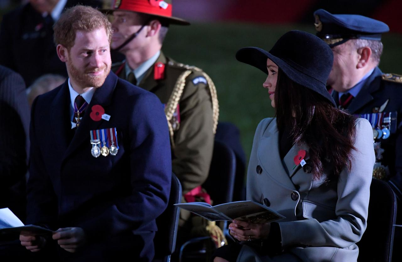 Prince Harry asks for respect for fiancee's father after wedding