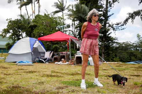 Hawaii residents displaced by erupting volcano