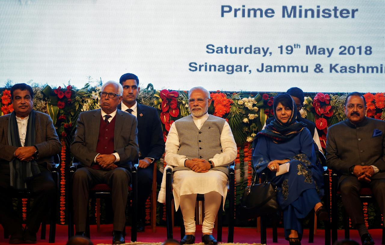 Modi inaugurates hydro project in Kashmir, Pakistan protests - Reuters