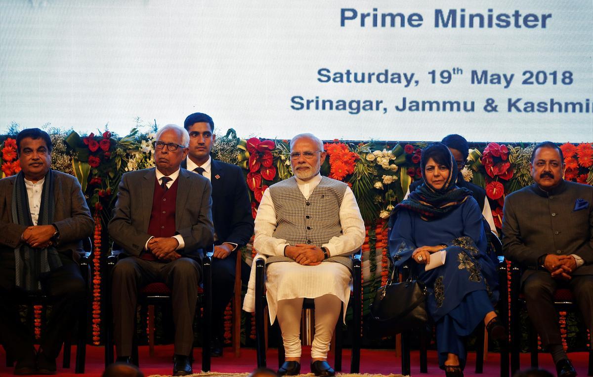 Modi inaugurates hydro project in Kashmir, Pakistan protests