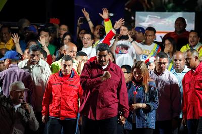 Maduro re-elected amid outcry over vote