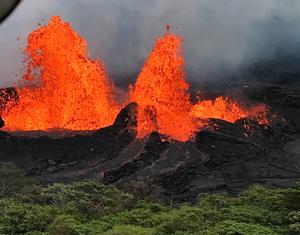 Hawaii's erupting Kilauea volcano