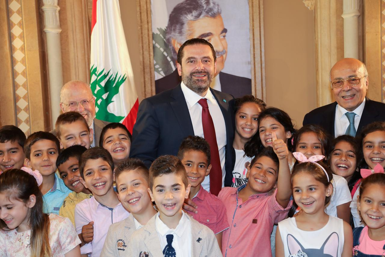 Image result for Lebanon's Aoun expected to designate Hariri PM