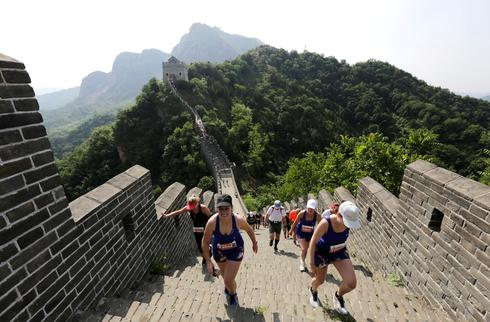 Marathon on the Great Wall of China