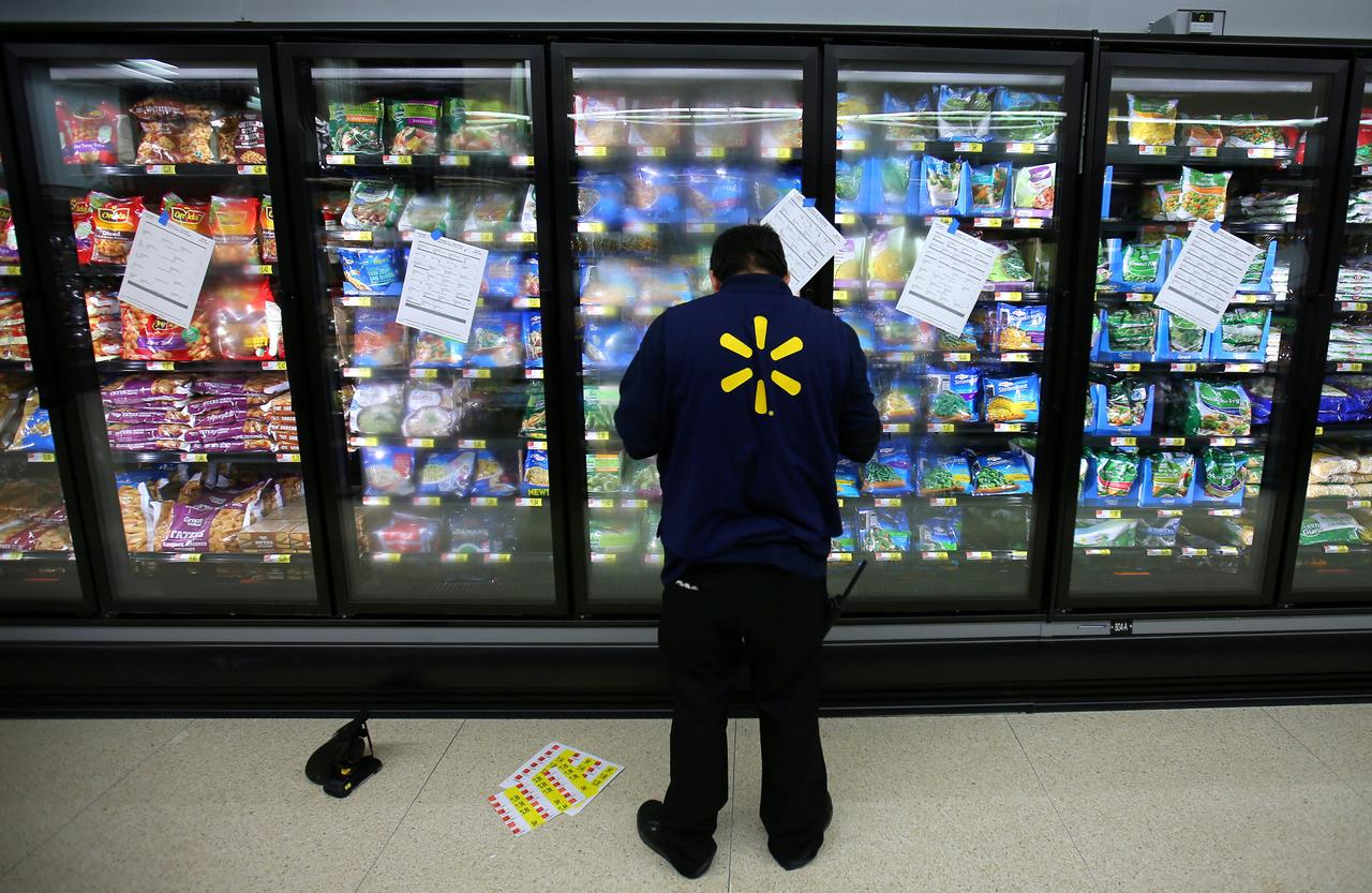 Half of Walmart's workforce are part-time workers: labor