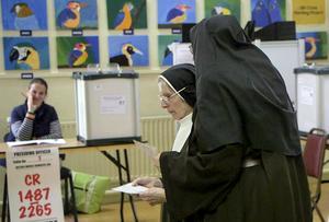 Ireland votes in abortion referendum
