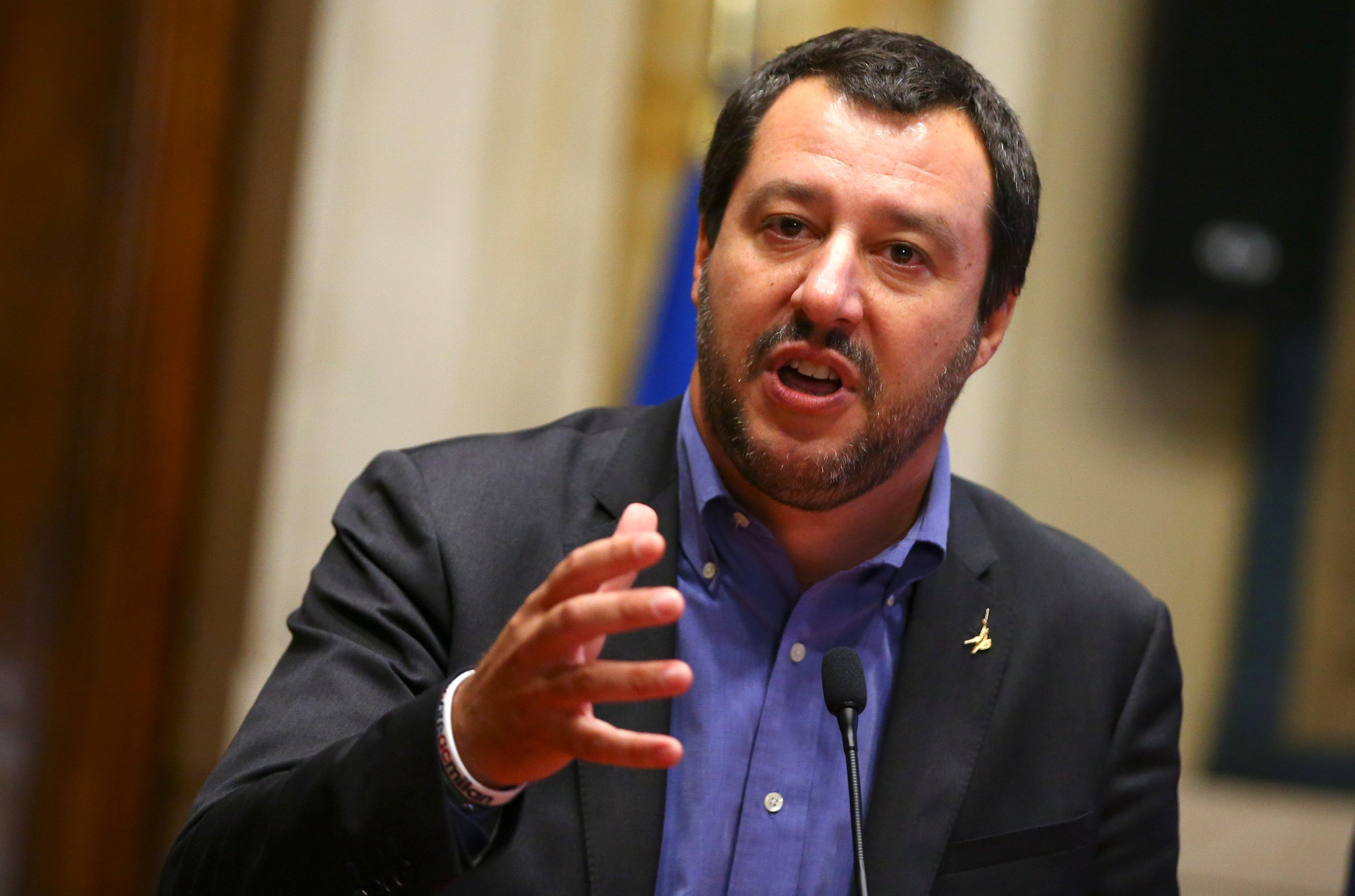 Italy's League leader hopes a new government can pass 2019 budget