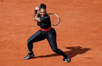 Serena Williams returns to Grand Slam court