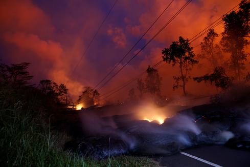 Hawaii's relentless lava
