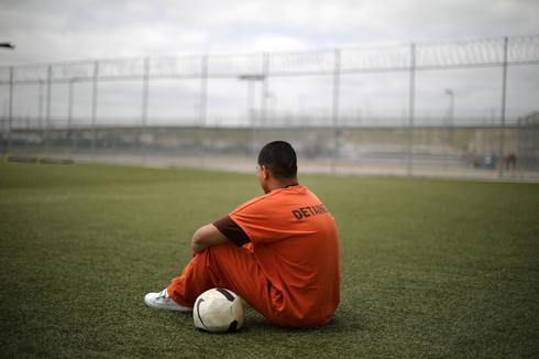 Inside Otay Mesa immigration detention center