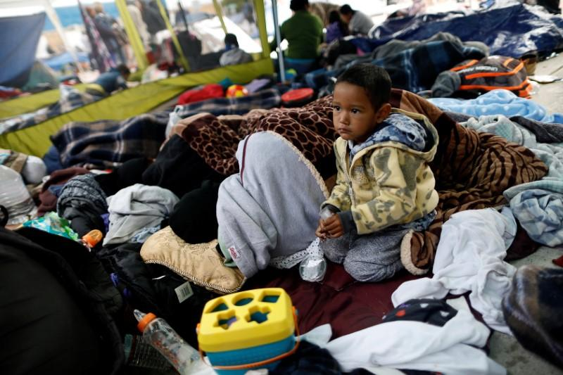 Image result for immigrant children in US camp