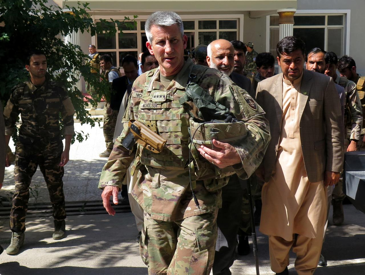 Image result for Fight against IS will step up during Afghan truce: US general