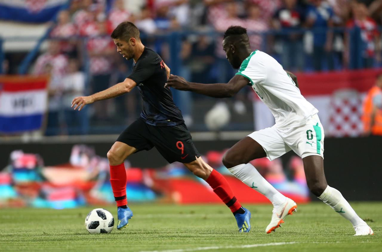 dc4f9fc76 Soccer Football - International Friendly - Croatia vs Senegal - Stadion  Gradski vrt