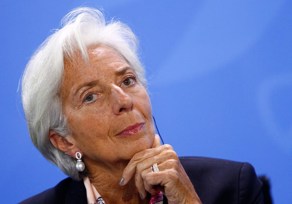 IMF's Lagarde says global economic outlook darkening by the