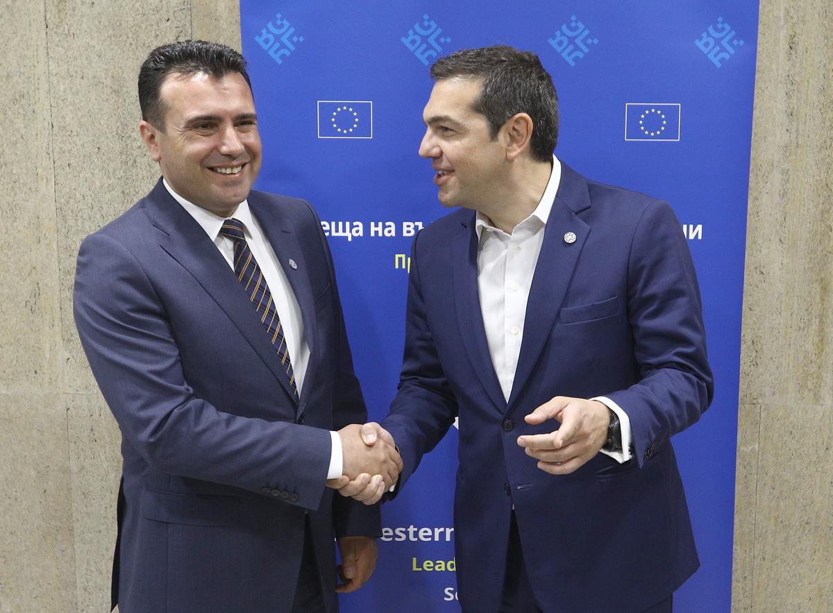 Greece and Macedonia say close to deal to resolve dispute over...