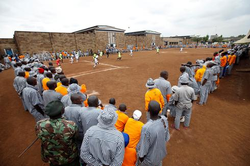 World Cup in Kenya prison