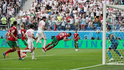 Iran 1 - Morocco 0