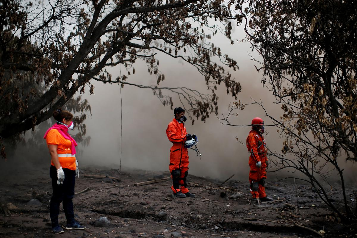 Guatemala Ends Victim Searches At Volcano Where 110 Died