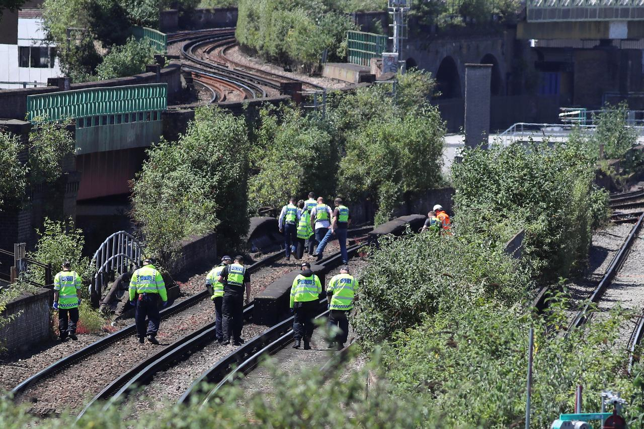 Three people killed after being hit by a train in south london