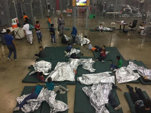 Inside a Texas border detention facility