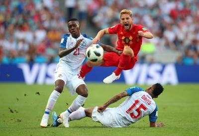 Belgium 3 - Panama 0