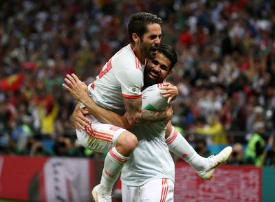Iran 0 - Spain - 1