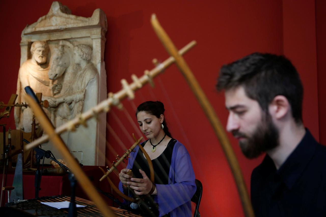 Ancient Greek sounds transfix audience in Athens - Reuters