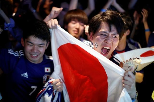 No win, no problem - Japan fans keep faith for last 16