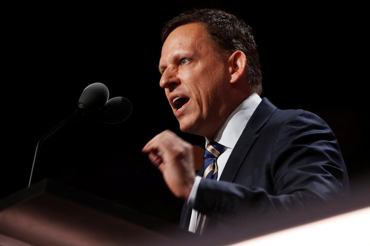 Waiting for Peter Thiel: big tech directors miss shareholder meetings | Reuters