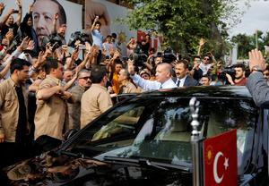 Turkey's Erdogan claims election victory