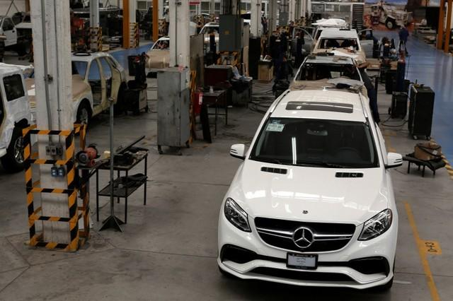 Rising crime pushes Mexico bulletproof car production to