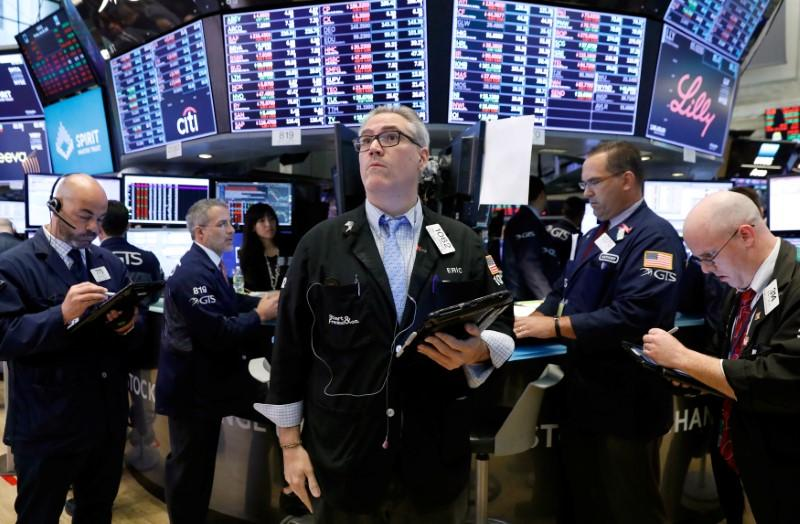 Energy leads Wall Street rebound as trade worries ease