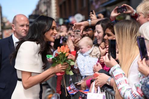 Meghan steps into royal duties