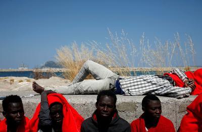 Migrant arrivals in Spain