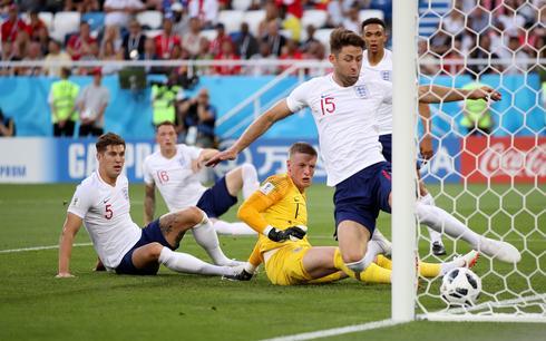 England 0 - Belgium 1