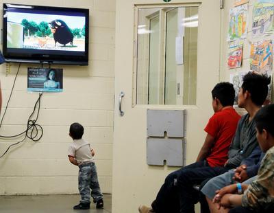Melania Trump visits kids detention centers