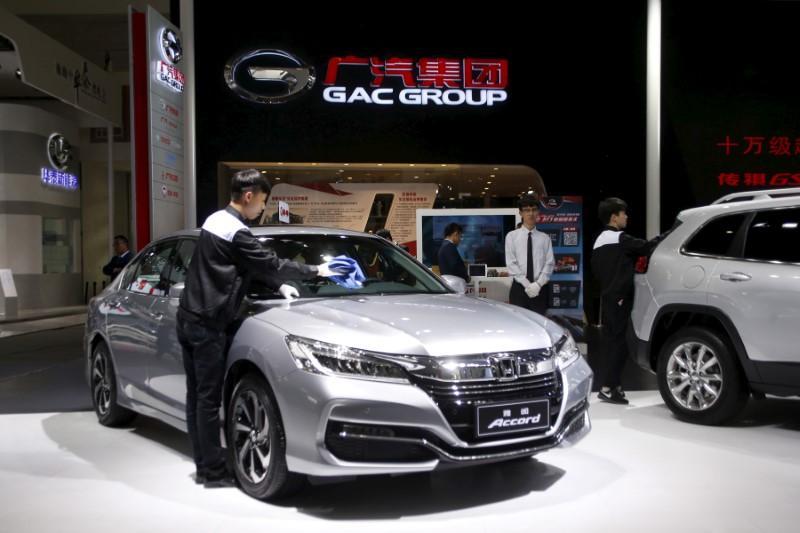 Honda Financial Login >> Honda's China vehicle sales drop for fifth straight month - Reuters